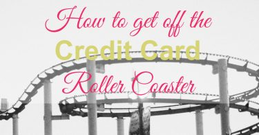 credit card roller coaster, credit card