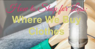 shop for less, we buy clothes
