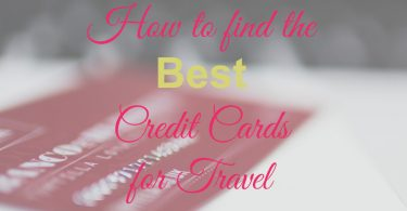 Credit Cards for Travel, Best Card for Travel