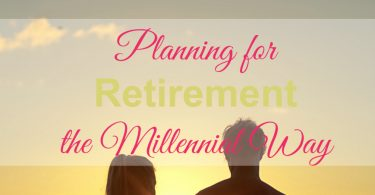 planning for retirement, when to retire, millennials