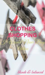clothes shopping, fashion shopping