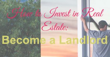 Real estate investments, invest in real estate