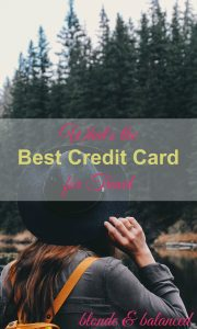 With so many credit card for travel rewards on the market wouldn't it be nice if someone just handed you the perfect credit card?