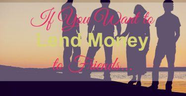 lend money, lend money to friends