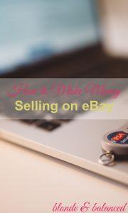 Make Money Selling on eBay