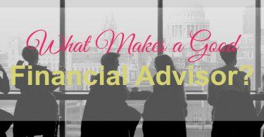 good financial advisor