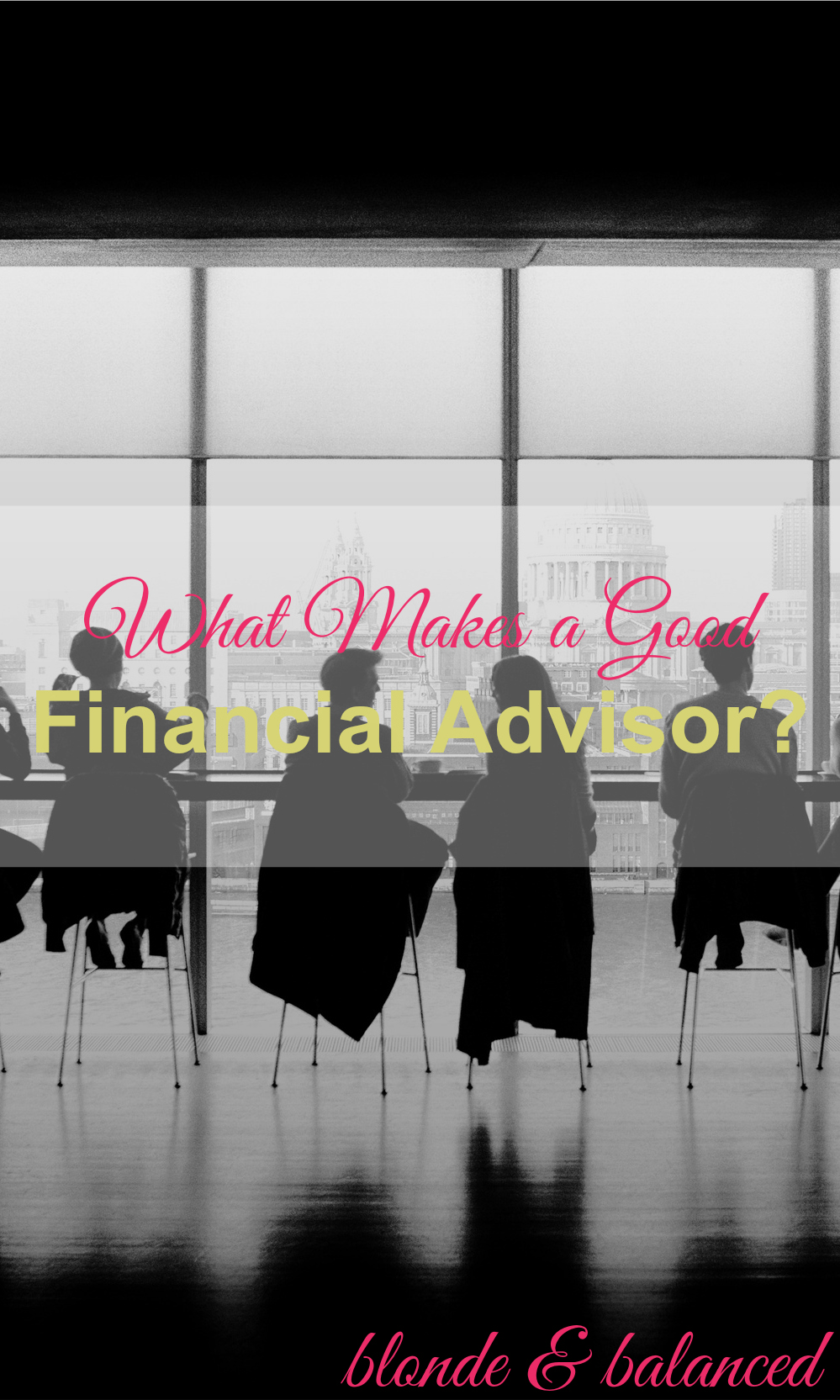 how to find the financial advisors of a company