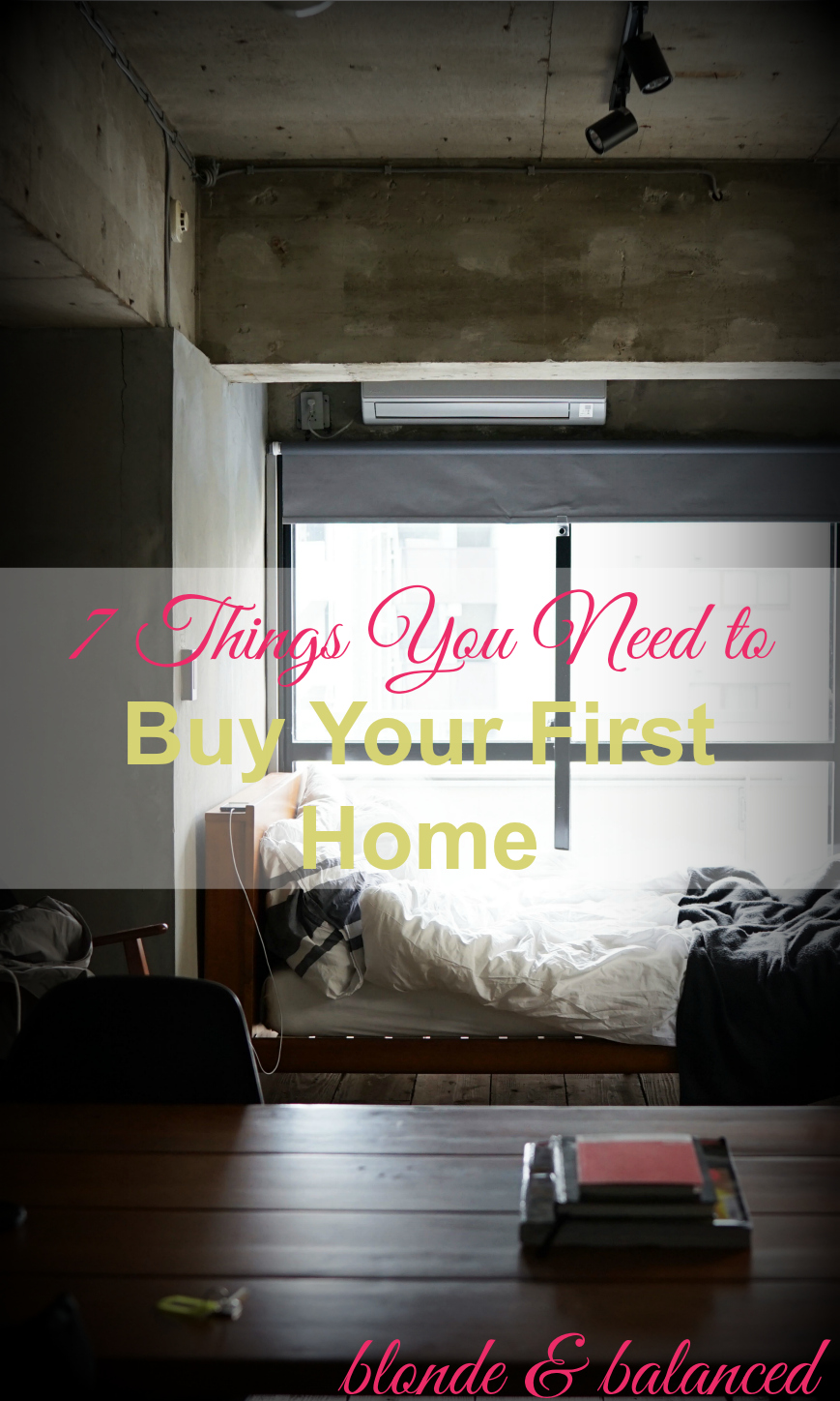 Things you need to buy your first home blonde balanced for Home need things