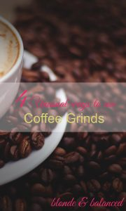 coffee grinds