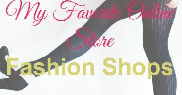 Shopping Online Fashion, Online Store Fashion