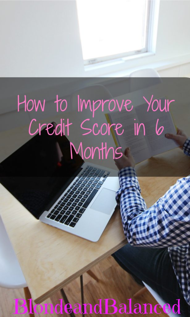 Four easy tips on how to improve your credit score and better your financial life in just six short months.
