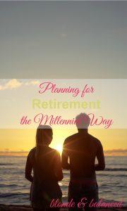 planning for retirement, when to retire, millennials