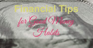 good money habits