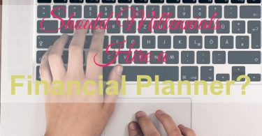 hire a financial planner
