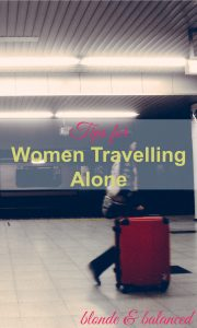 travelling alone, travel