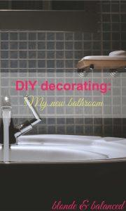 DIY, decorating