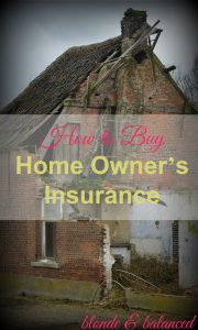 home owner's insurance