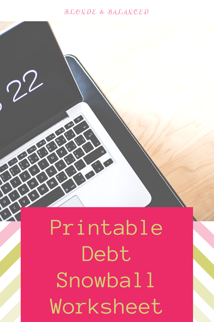 picture about Debt Worksheet Printable identify Ultimately Consider Rid of Your Credit card debt (and a Printable Personal debt Snowball